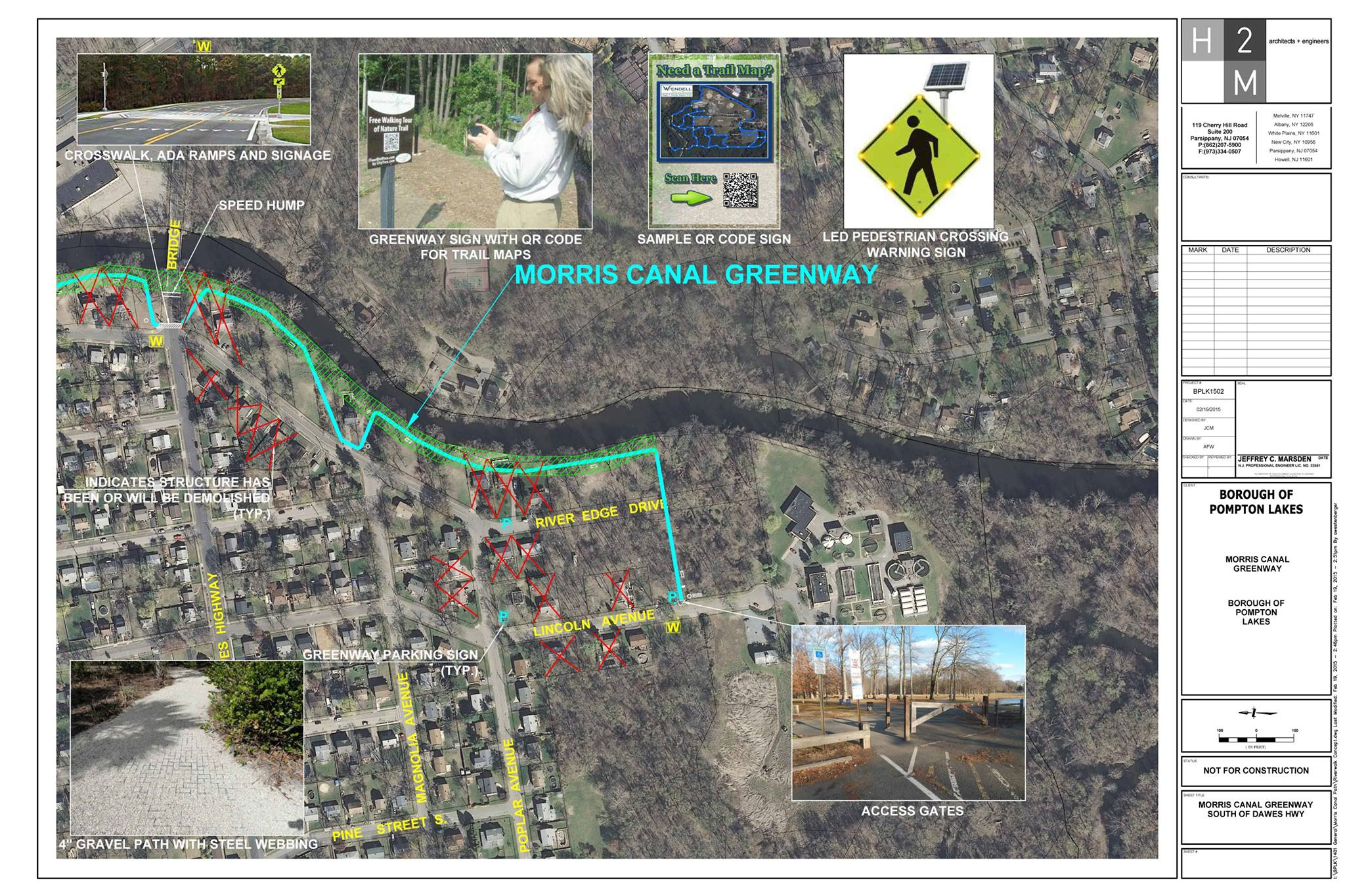 Morris Canal Greenway Project Overview Map